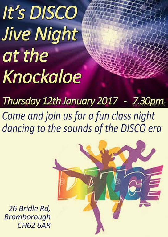 DISCO NIght Poster